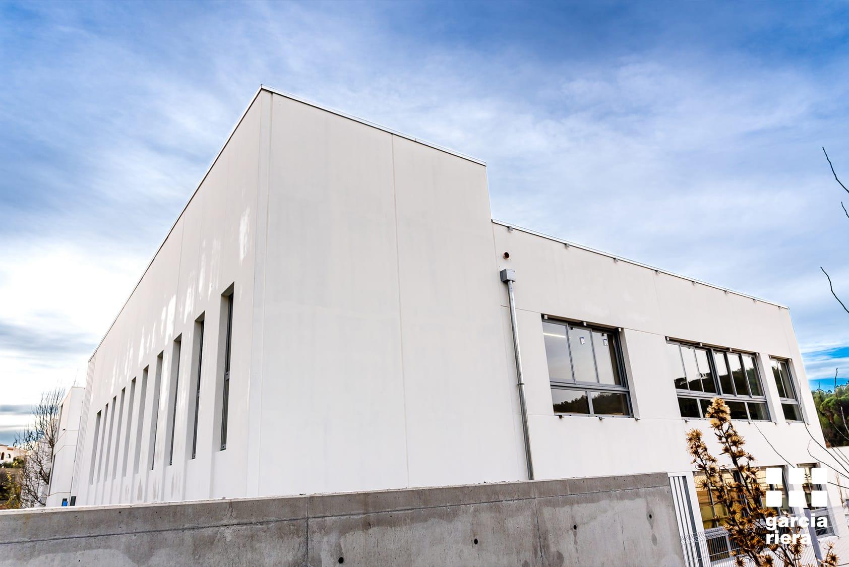 Garcia Riera projecte ampliacio escola sant quinti mediona